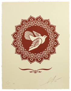 Peace-Dove-Letter-Press