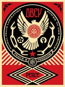 Shepard Fairey - Peace & Freedom Dove